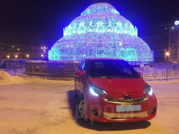 Toyota Ractis, 2014 год, 630 000 руб.