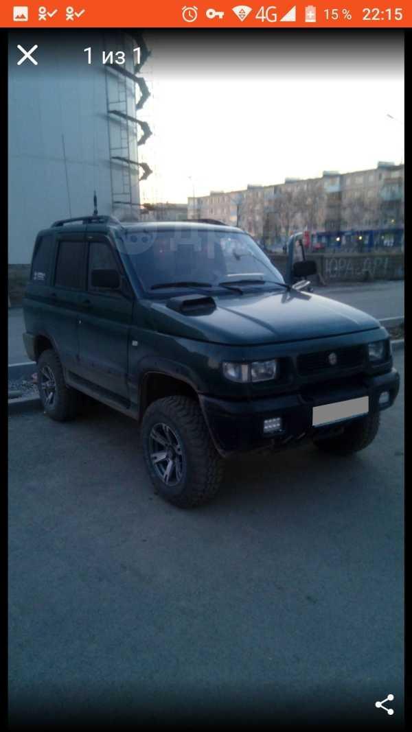 УАЗ Симбир, 2001 год, 215 000 руб.