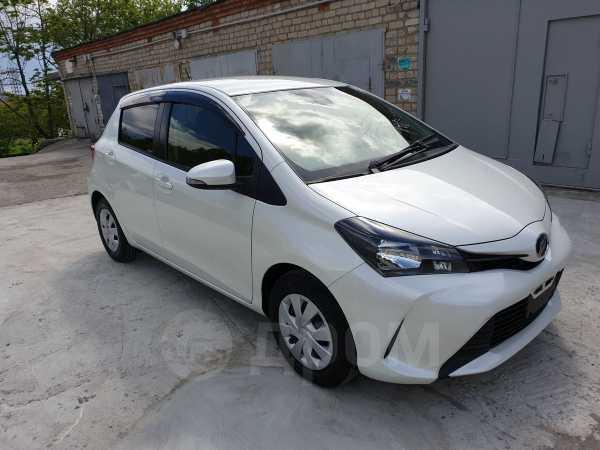 Toyota Vitz, 2015 год, 595 000 руб.