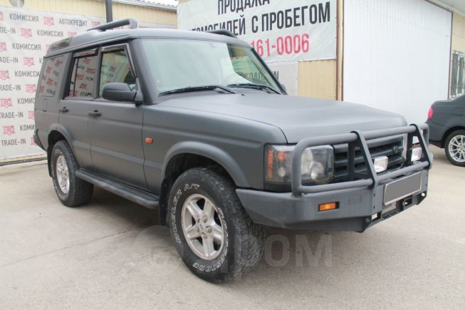 Land Rover Discovery, 2004 год, 495 000 руб.