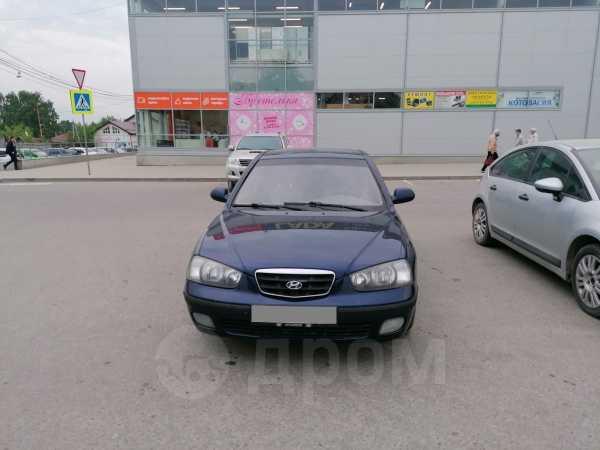 Hyundai Elantra, 2002 год, 199 000 руб.