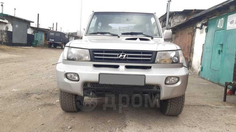 Hyundai Galloper, 2001 год, 410 000 руб.