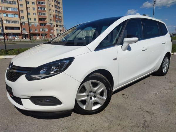 Opel Zafira, 2017 год, 1 162 000 руб.