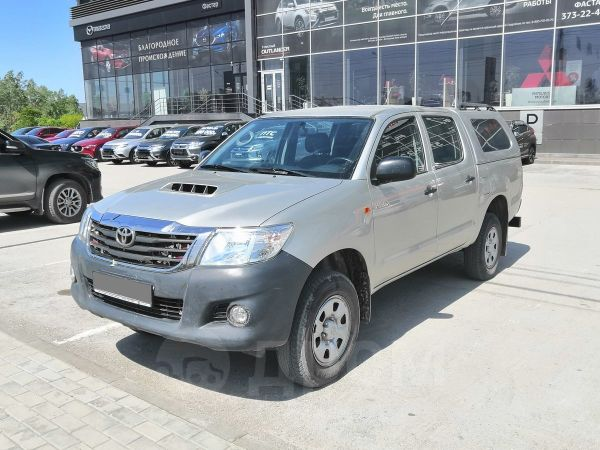 Toyota Hilux Pick Up, 2014 год, 1 259 000 руб.