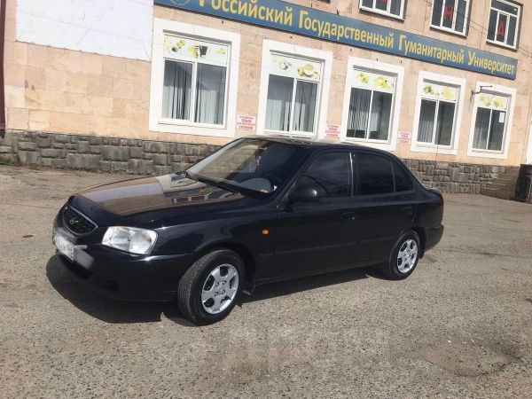 Hyundai Accent, 2005 год, 300 000 руб.
