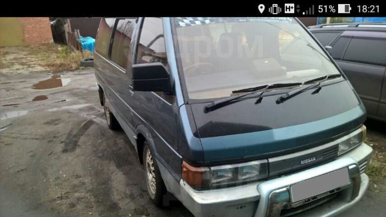 Nissan Largo, 1991 год, 35 000 руб.