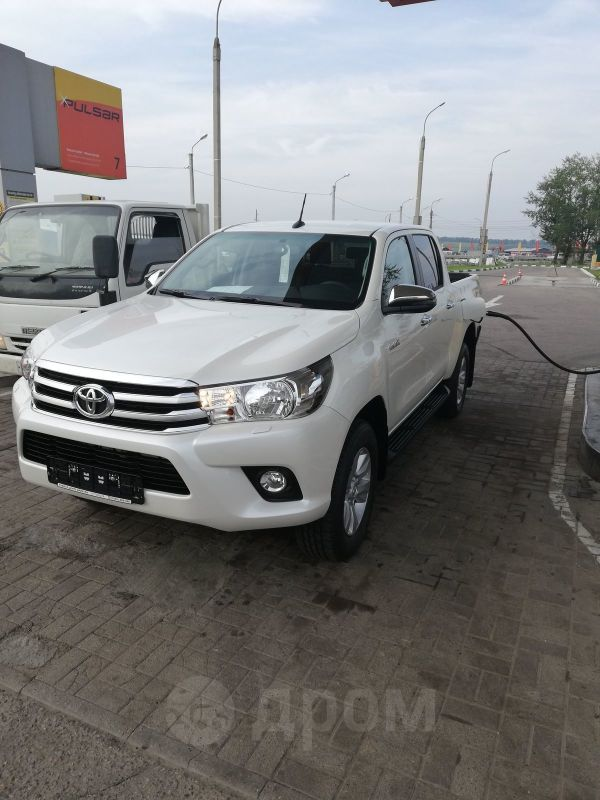 Toyota Hilux Pick Up, 2019 год, 2 400 000 руб.