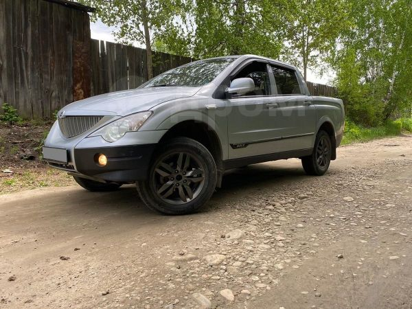 SsangYong Actyon Sports, 2010 год, 485 000 руб.