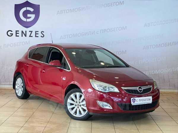 Opel Astra, 2011 год, 469 000 руб.