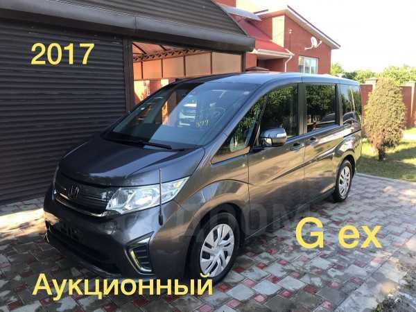 Honda Stepwgn, 2017 год, 1 235 000 руб.