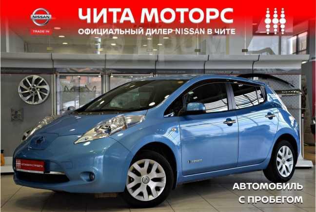 Nissan Leaf, 2013 год, 419 000 руб.