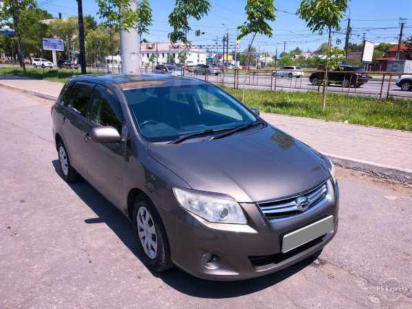 Toyota Corolla Fielder, 2010 год, 485 000 руб.