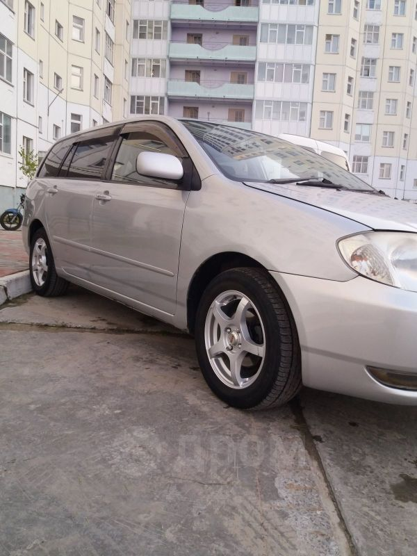 Toyota Corolla Fielder, 2003 год, 320 000 руб.