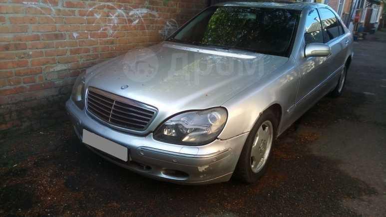 Mercedes-Benz S-Class, 2000 год, 160 000 руб.