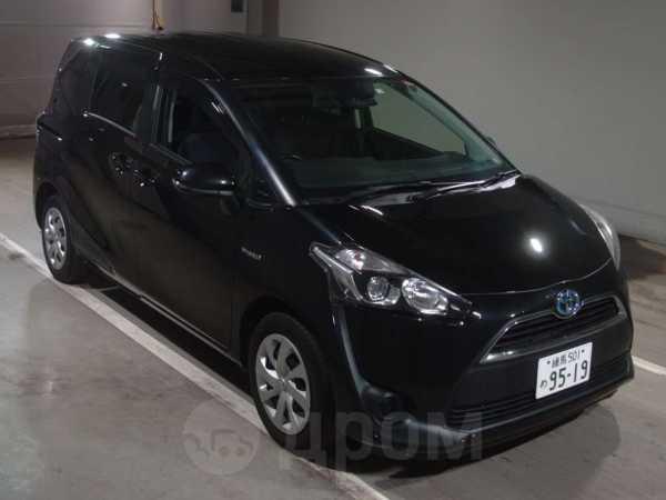 Toyota Sienta, 2016 год, 825 000 руб.