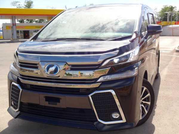 Toyota Vellfire, 2015 год, 2 950 000 руб.