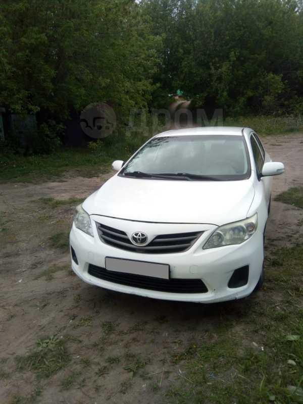Toyota Corolla FX, 2011 год, 595 000 руб.