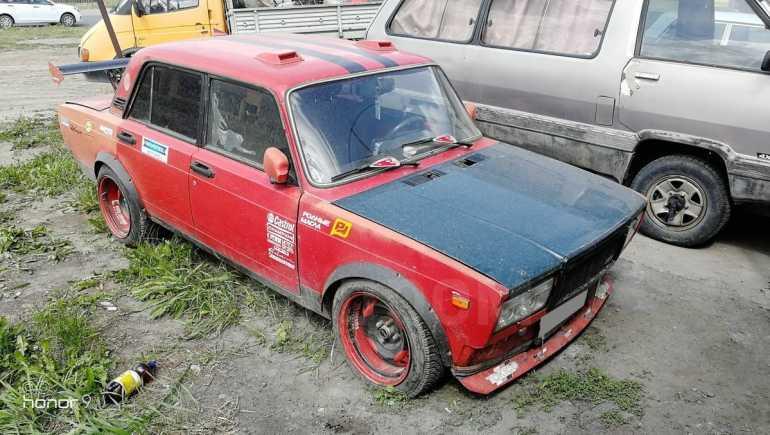 Лада 2107, 1987 год, 60 000 руб.
