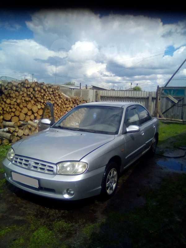 Kia Sephia, 2001 год, 80 000 руб.