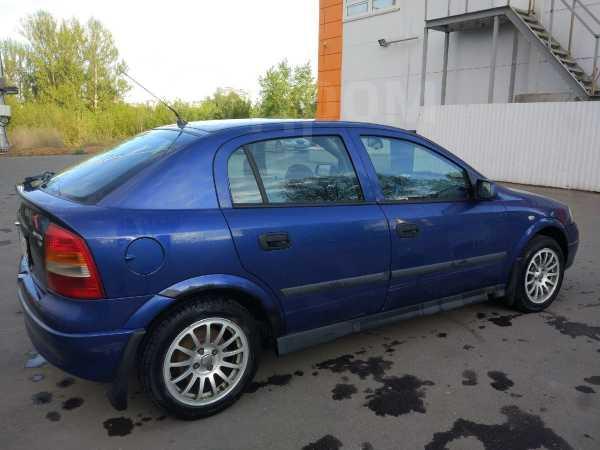 Opel Astra, 2002 год, 155 000 руб.