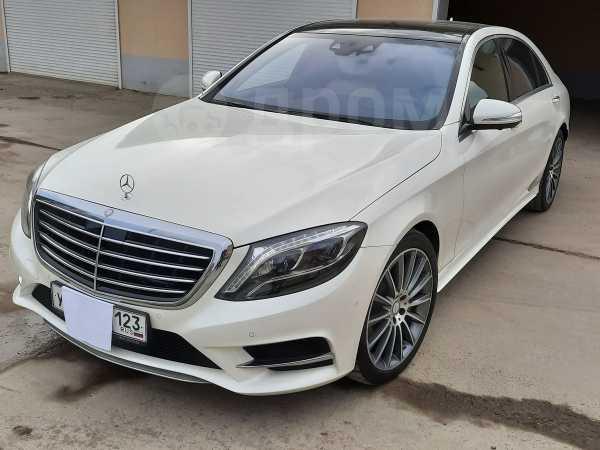 Mercedes-Benz S-Class, 2016 год, 4 100 000 руб.