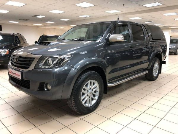 Toyota Hilux Pick Up, 2015 год, 1 517 000 руб.