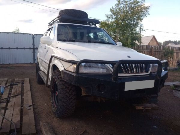 SsangYong Musso Sports, 2005 год, 300 000 руб.