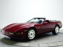 Chevrolet Corvette рестайлинг 1990, открытый кузов, 4 поколение, C4