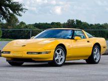 Chevrolet Corvette рестайлинг 1990, купе, 4 поколение, C4