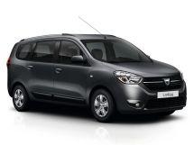 Dacia Lodgy рестайлинг 2017, минивэн, 1 поколение