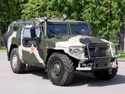 ГАЗ ГАЗ-2330 Тигр  06.2005 -  н.в.