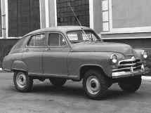 ГАЗ М-72 1955, седан, 1 поколение