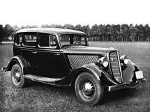 ГАЗ М1 1936, седан, 1 поколение