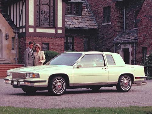 Cadillac Fleetwood 1984 - 1986