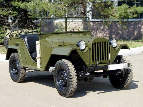 ГАЗ 67 1943 - 1953