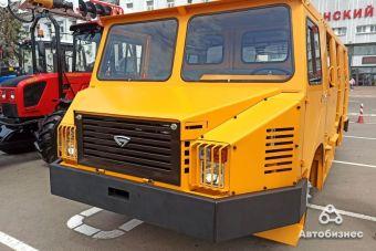 Новый шахтный автобус сделали для «Беларуськалия».