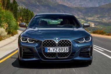Новая BMW 4-Series получила «самостоятельный» дизайн с огромными ноздрями