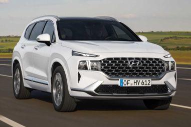 Кроссовер Hyundai Santa Fe получил измененную внешность и новую платформу