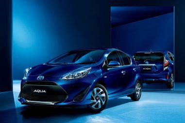 Toyota представила более безопасную версию хэтчбека Aqua