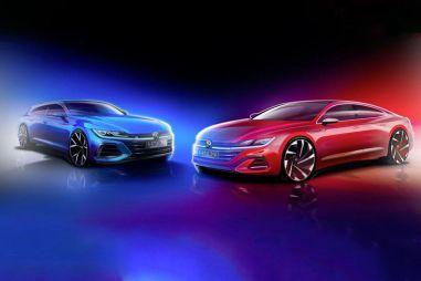 Volkswagen опубликовал первый тизер Arteon в кузове универсал: скоро премьера