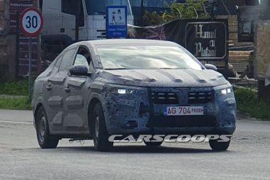 Новый Renault Logan замечен в Европе во время дорожных тестов