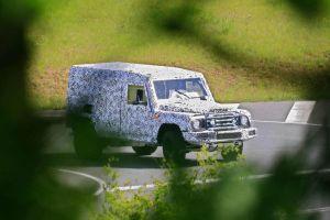 Рамный конкурент Land Rover Defender вышел на первые тесты