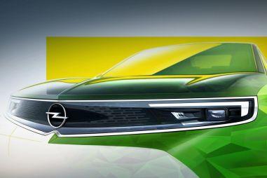 Opel показал новый эскиз следующей Mokka