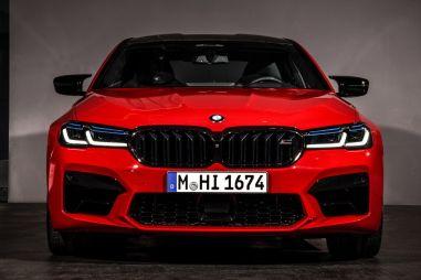 BMW представила обновленную M5