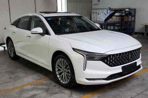 Китайцы разработали седан с неординарным дизайном