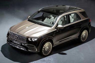 Немцы представили неофициальный Mercedes-Maybach GLE
