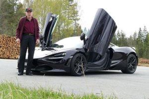 78-летний пенсионер купил себе в качестве повседневной машины McLaren (ВИДЕО)