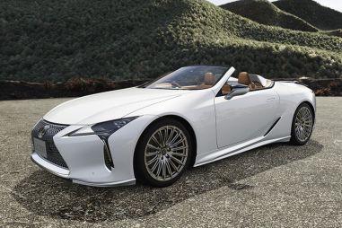 Для Lexus LC вышел тюнинг TRD: не украшения, а оптимизация аэродинамики