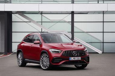 Новый Mercedes-AMG GLA добрался до России от 4 170 000 рублей
