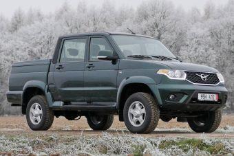 УАЗ начал выпуск товарных Пикапов с «автоматом»